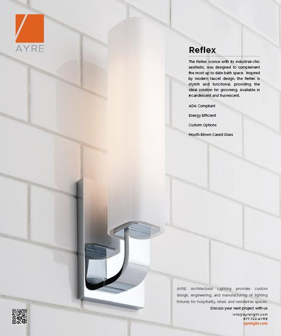 Reflex Sconce - Metropolis Magazine | Ayre